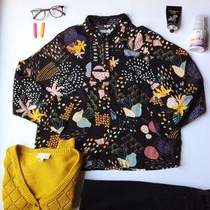 ASOS Pull&Bear patterned Blouse
